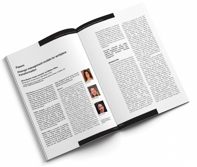 Corporate Real Estate Journal Article