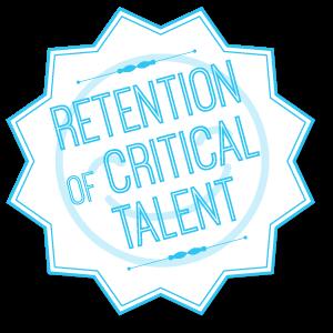 Retention of talent badge