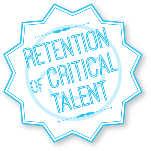 Retention of talent badge