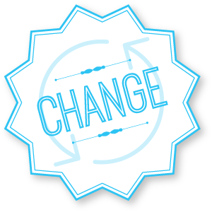 Change badge