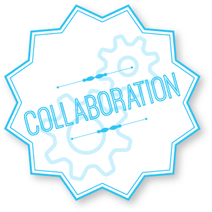 Collaboration badge